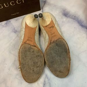 Gucci Shoes - GUCCI guccissima leather kitten heels